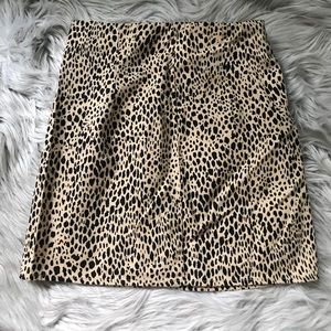 Brandy Melville Leopard Mini Skirt